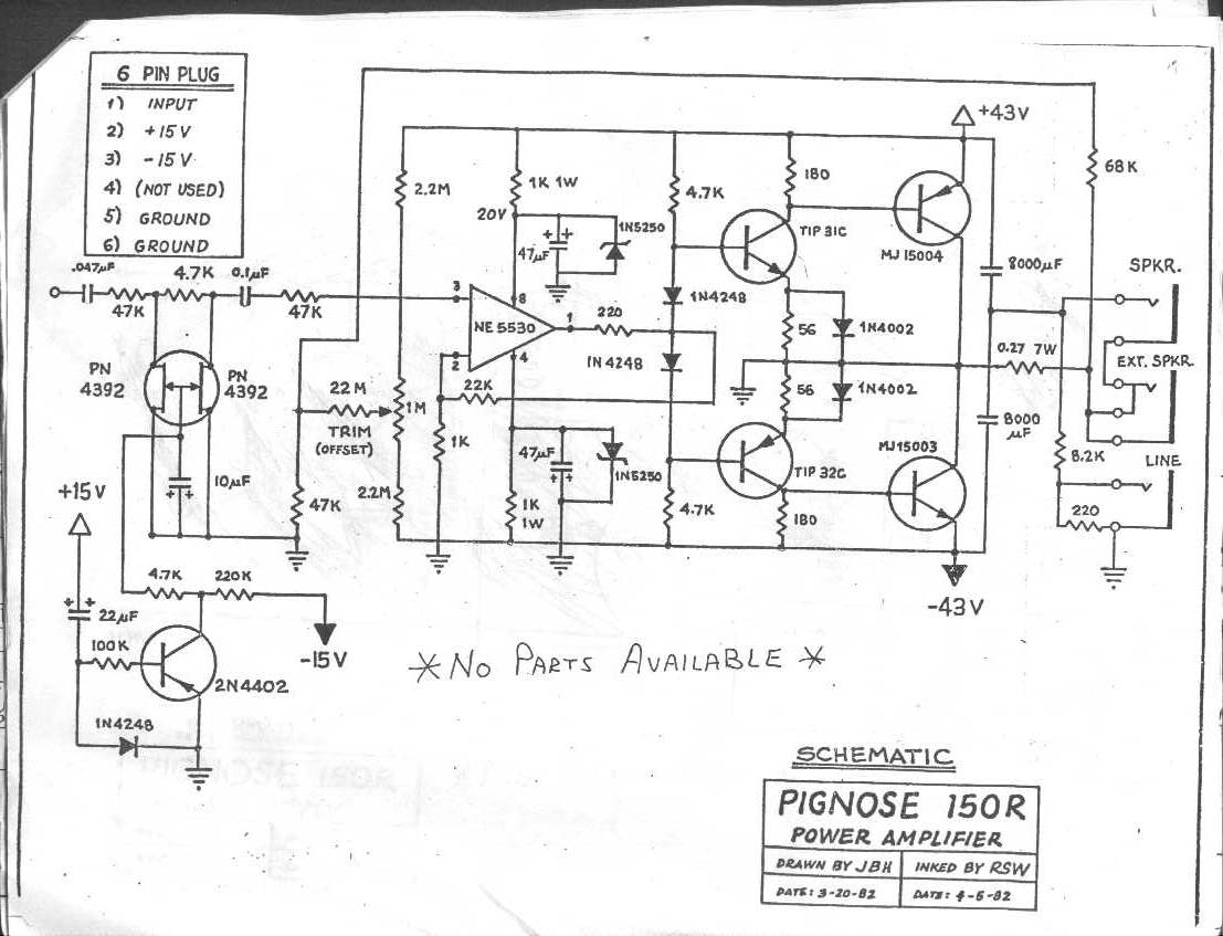 qsc audio - floating supply amplifiers - page 3