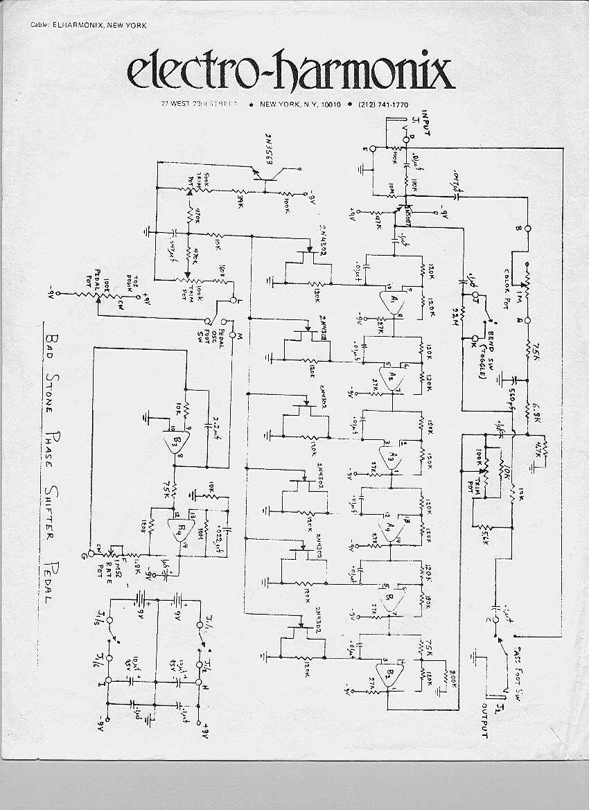 Selected Schematics Wiring Diagram Preamp Eq Badstone