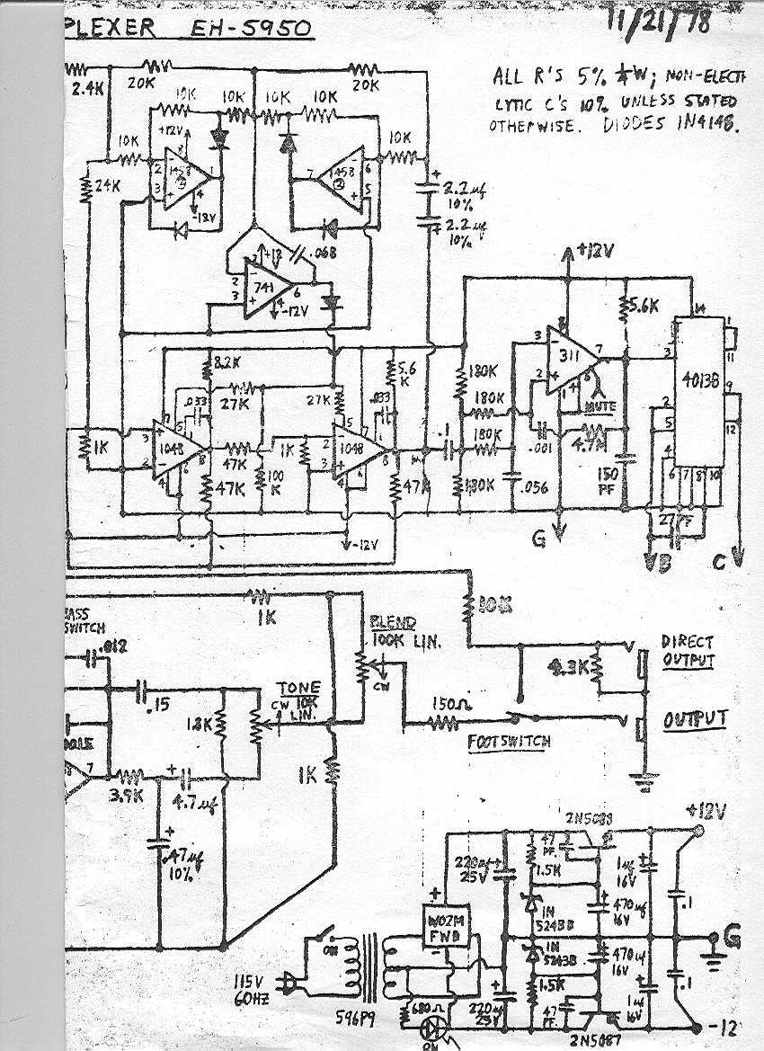 selected schematics