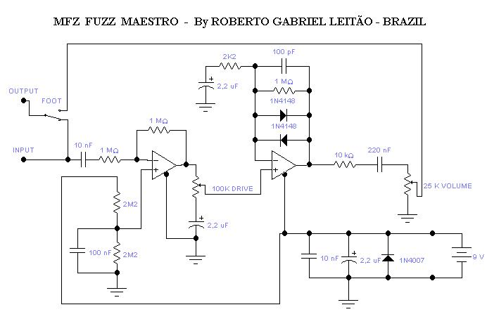 Maestro MFZ-1 - which is the real schematic?