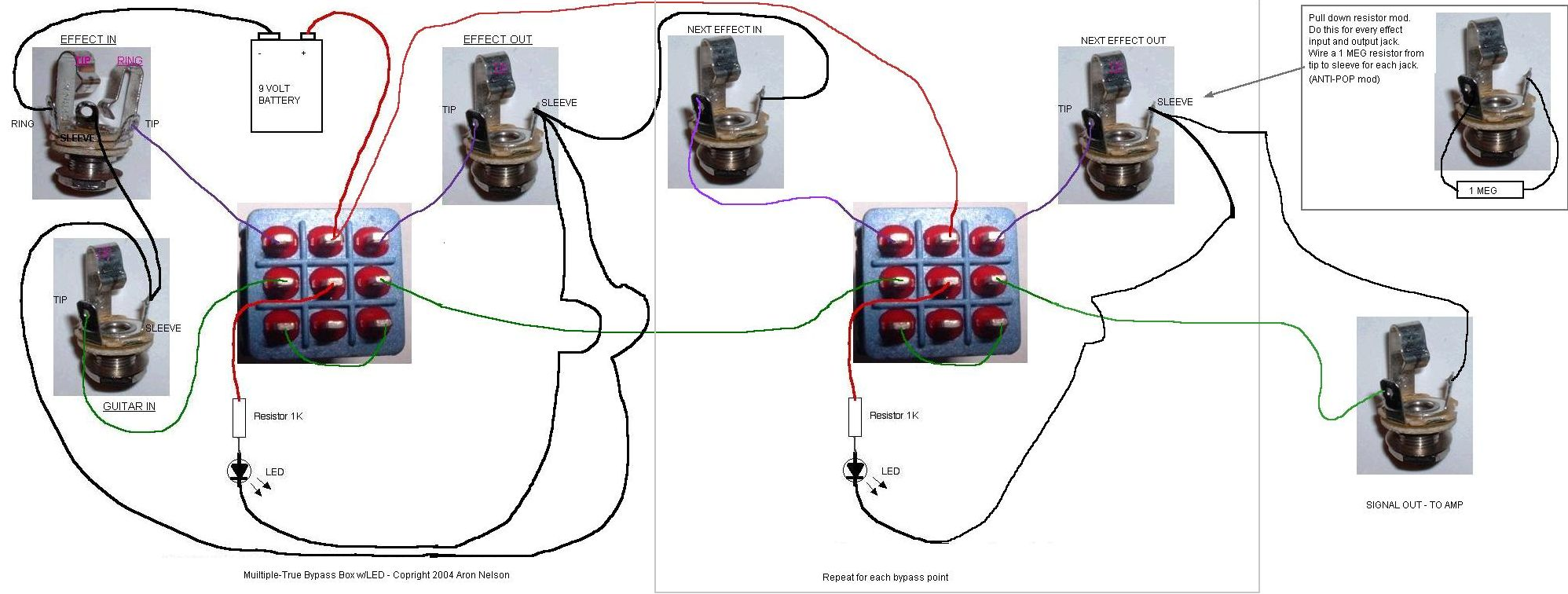 Brand New To Diy Effects Need Advice True Bypass Wiring Diagram Http Pedals Schems Multi