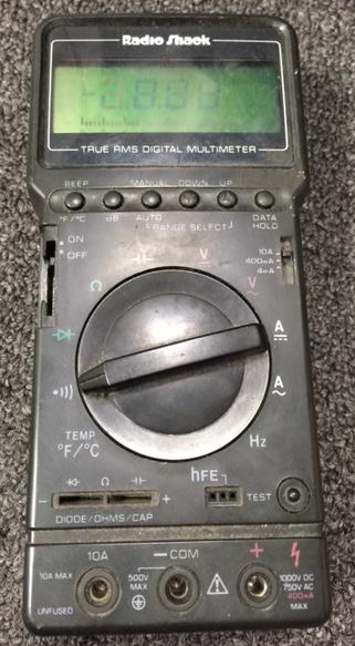 Radio Shack Multimeter : Diystompboxes effects